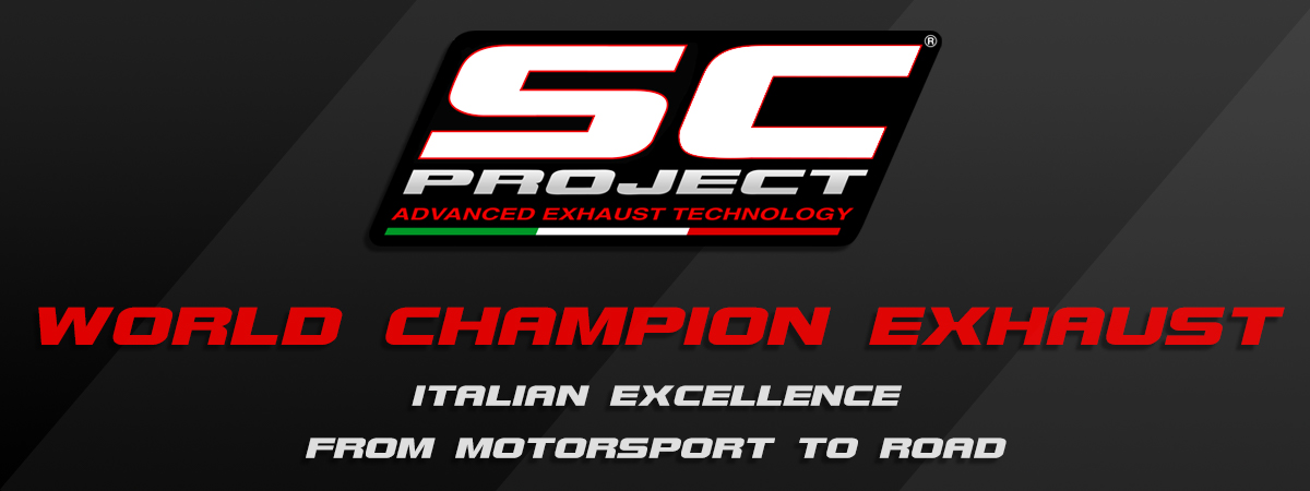 SC-Project World Champion Exhaust italian Excellence Advanced Motorsport Technlogy