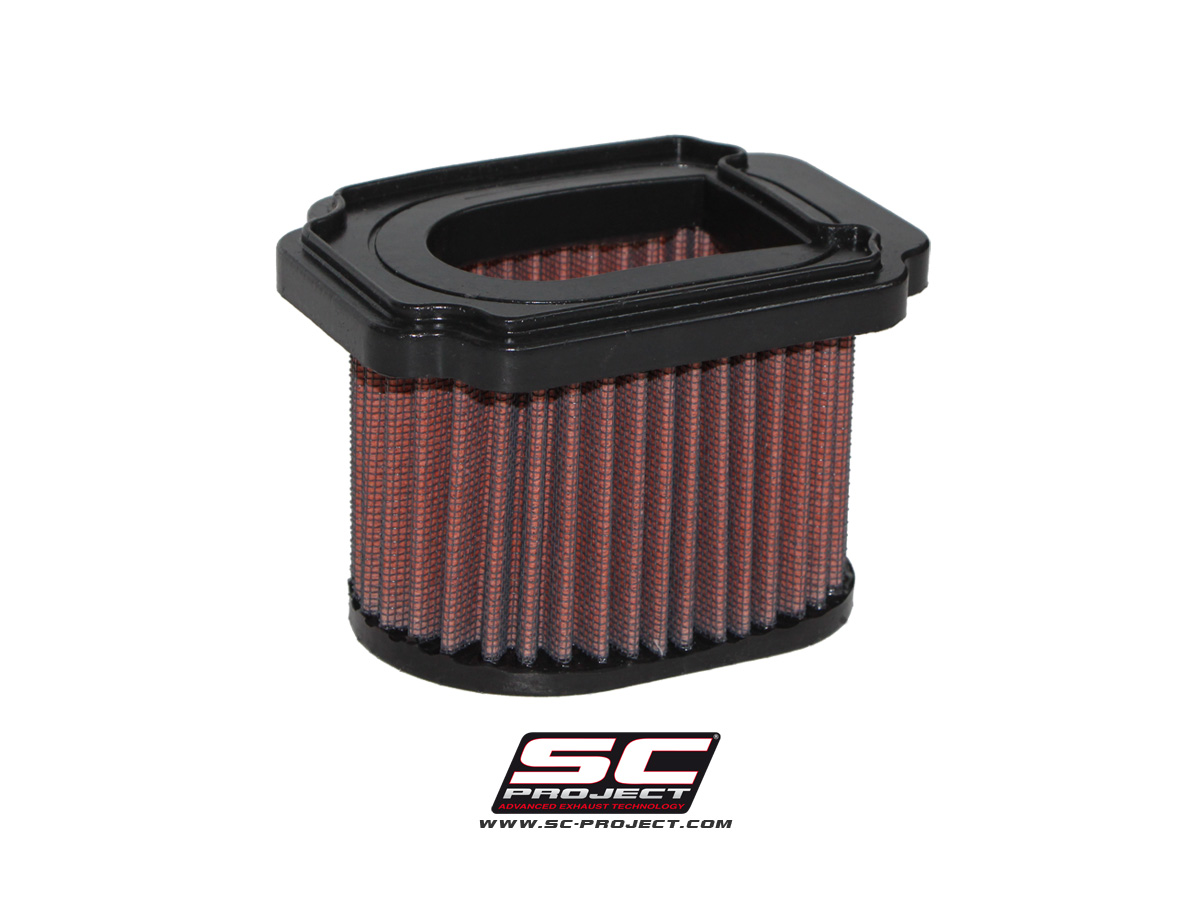 Air filter, specific for Yamaha MT-07