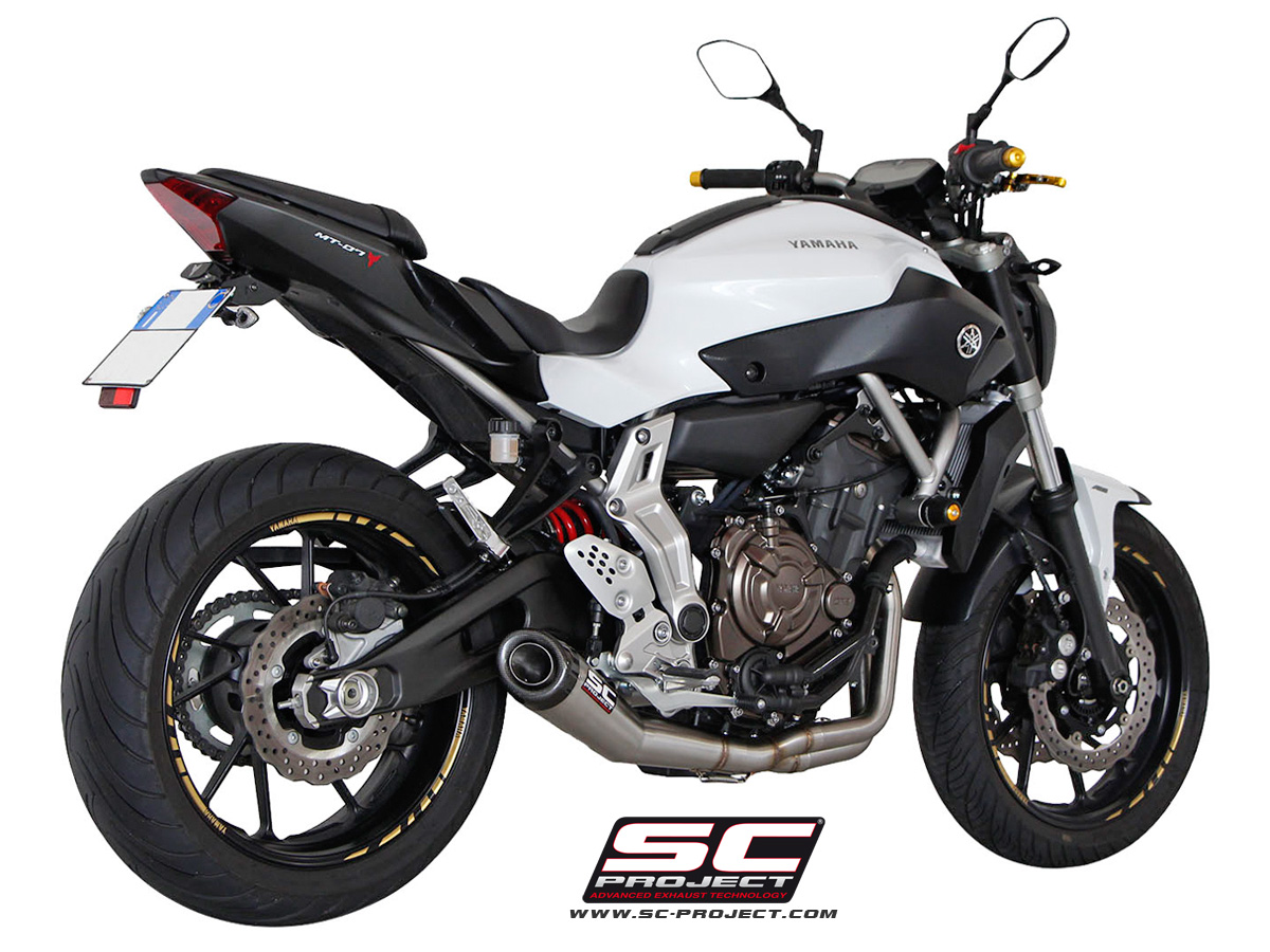 Sc Project Yamaha Mt 07 2013 2016