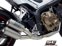 Full Exhaust System 4-1-2, with Twin CR-T Muffler, Titanium