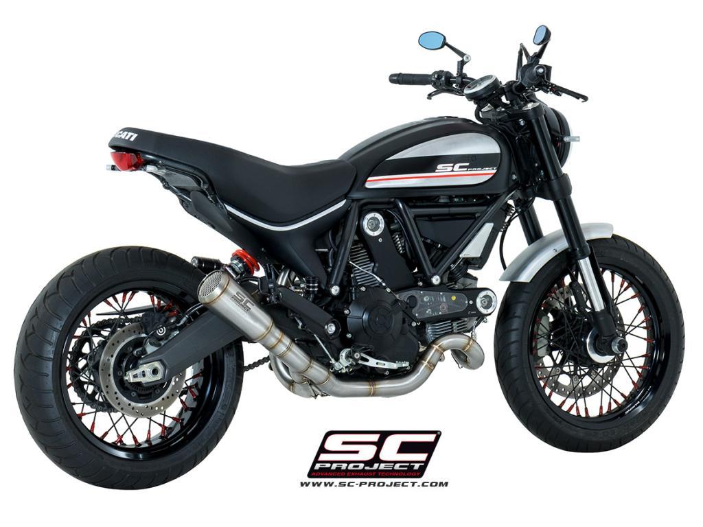 Full Exhaust System 2 1 Ducati Scrambler 800 2015 2016