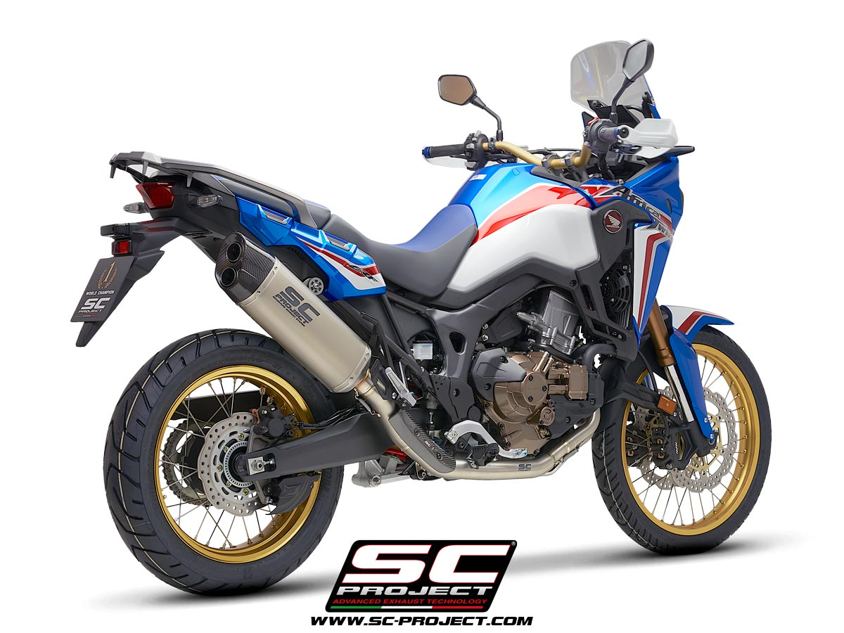 Full Exhaust System 2 1 Honda Crf1000l Africa Twin 2016 2019 Adventure