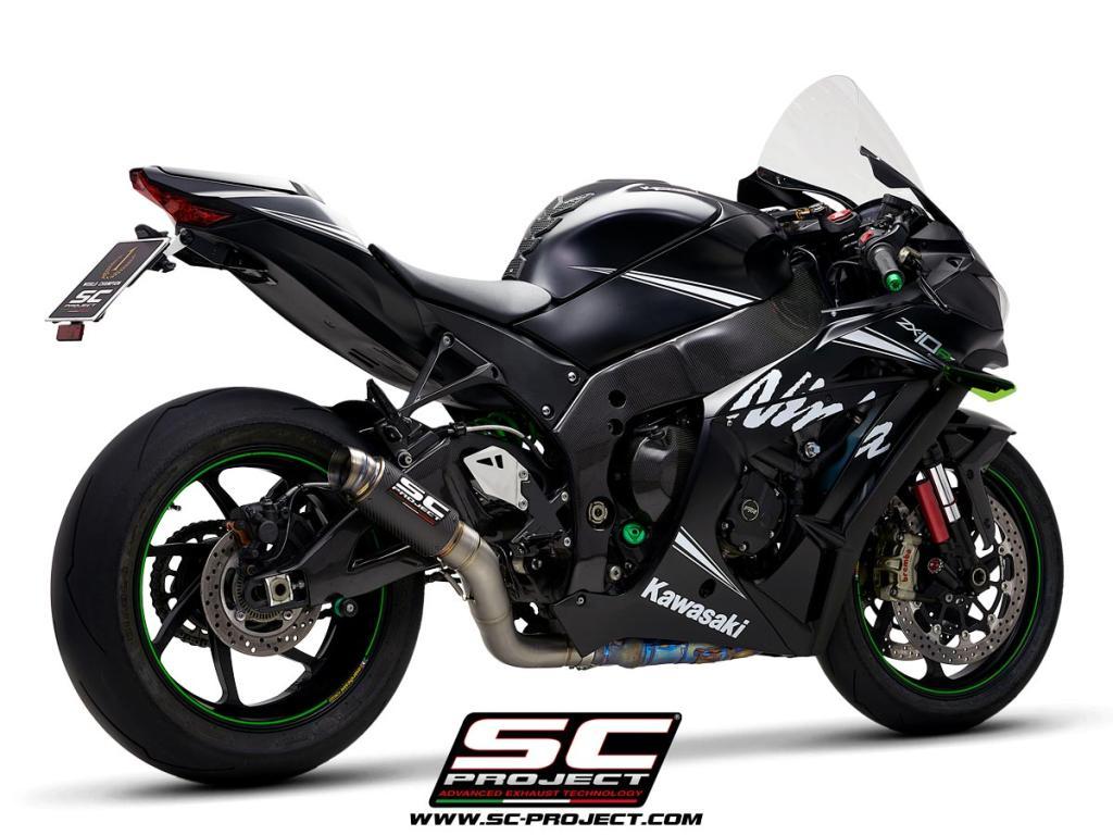 Gp70 R Muffler Kawasaki Ninja Zx 10r Rr 2016 2020
