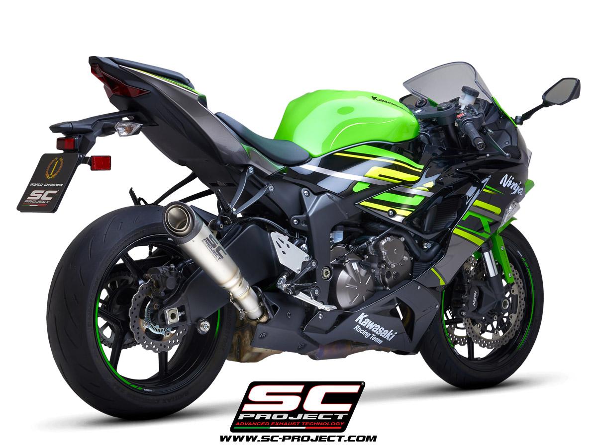 S1 Muffler Kawasaki Ninja Zx 6r 636 2019 2020