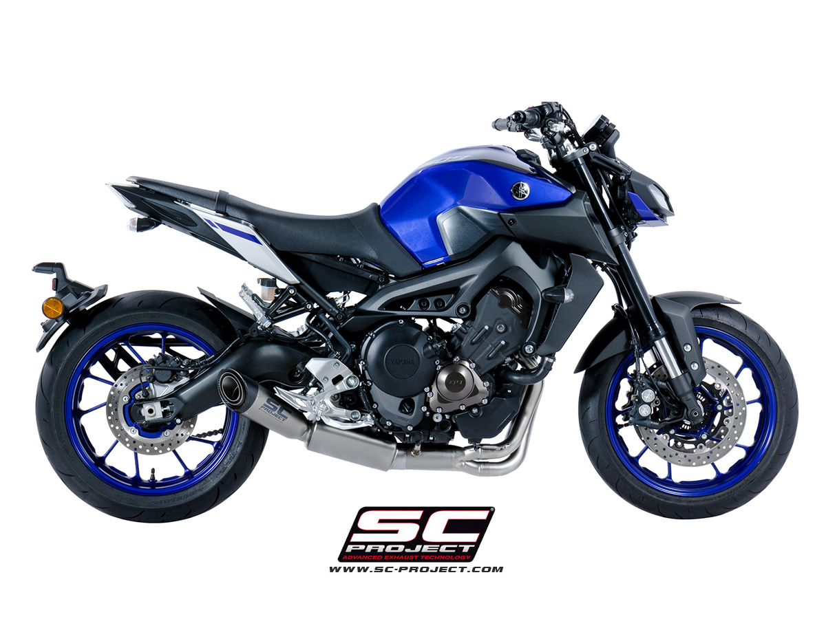 full exhaust system 3 1 yamaha mt 09 2017 2019. Black Bedroom Furniture Sets. Home Design Ideas