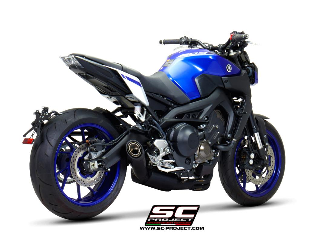 Full Exhaust System 3 1 Yamaha Mt 09 2017 2019