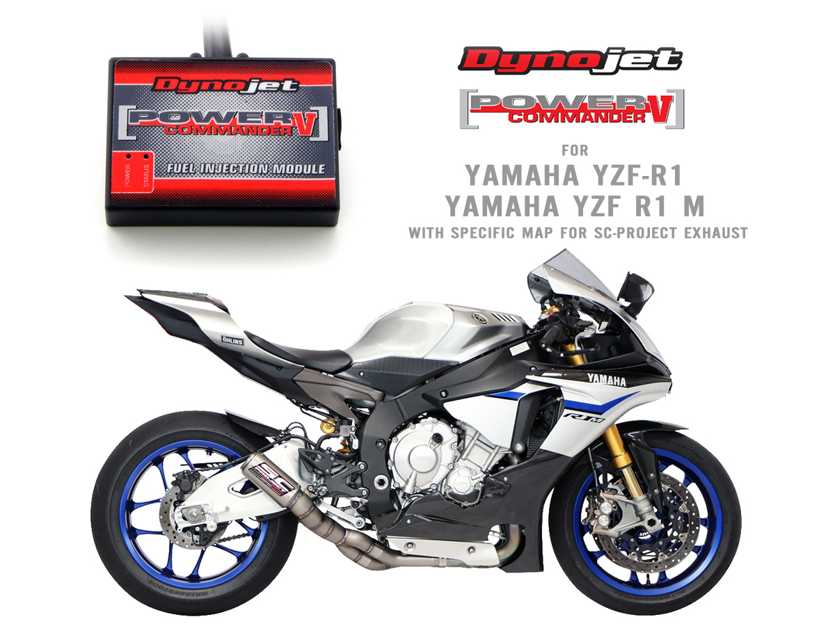 Fuel Injection Module Dynojet Power Commander V For Yamaha R1 And R1m With Specific Mapping
