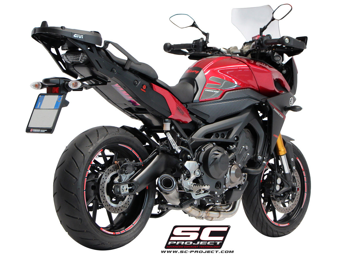 yamaha tracer 900 sc project exhausts. Black Bedroom Furniture Sets. Home Design Ideas